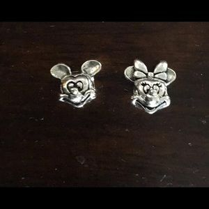 Authentic Minnie and Mickey pandora Charms
